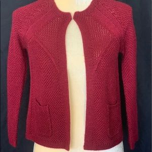 Sweaters - Design History Open Front light sweater